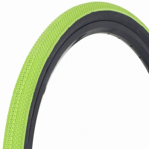 "Vee Tire Co. 20x1-3/8"" Vee Rubber Speedster Green/Black Wall Tire"