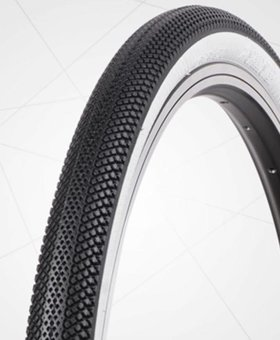 "Vee Tire Co. 24x1-1/8"" Vee Rubber Speedster Black/White Wall Tire"
