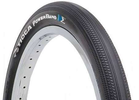 Tioga Tioga 20x1.85 Powerband Wire Black Tire