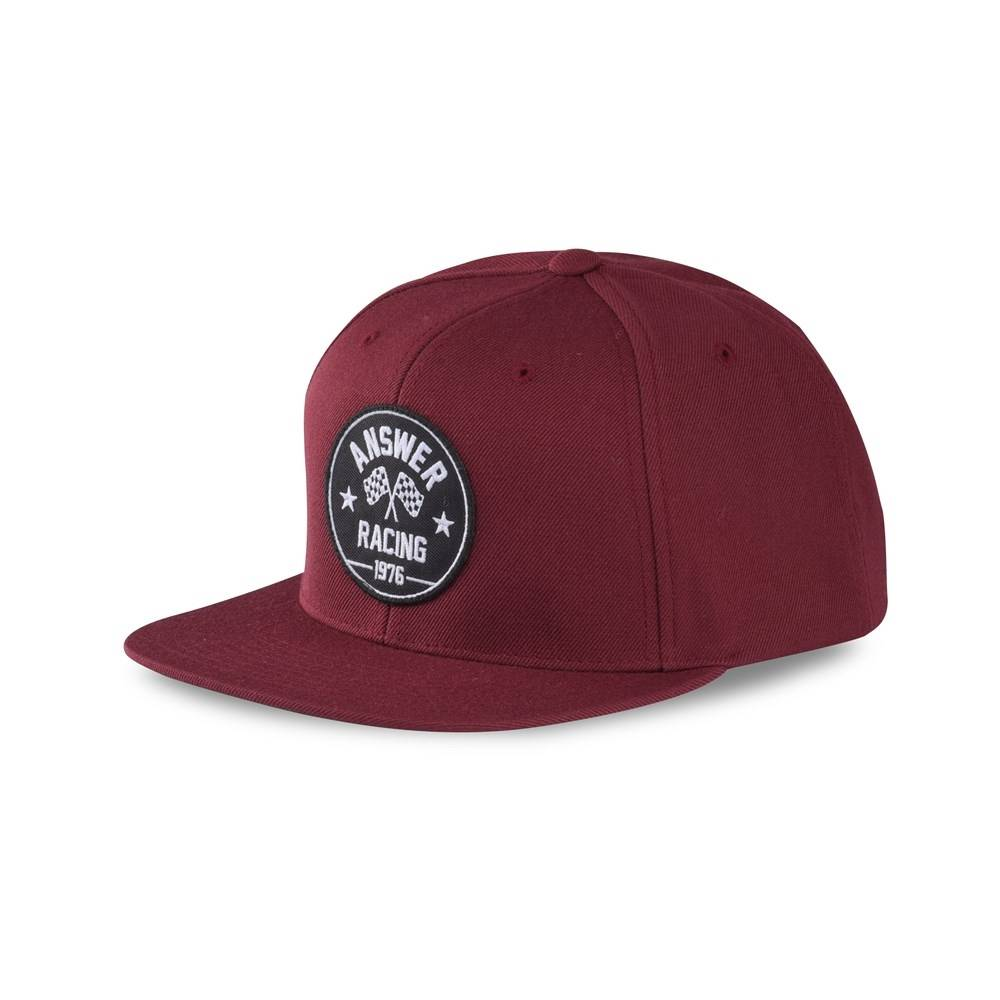 Answer Racing Answer Victory Burgundy Hat