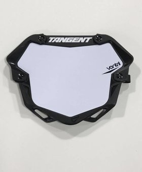 Tangent Products Tangent 3D Ventril Pro Black Number Plate