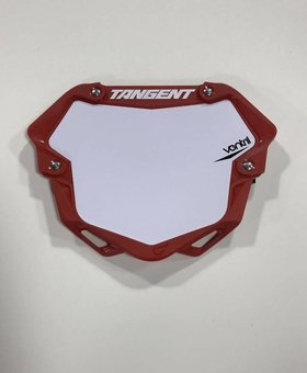 Tangent Products Tangent 3D Ventril Pro Red Number Plate