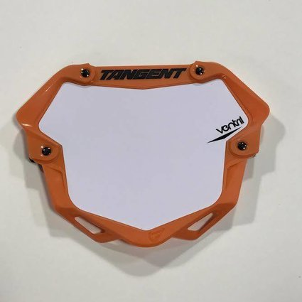 Tangent Products Tangent 3D Ventril Pro Orange Number Plate