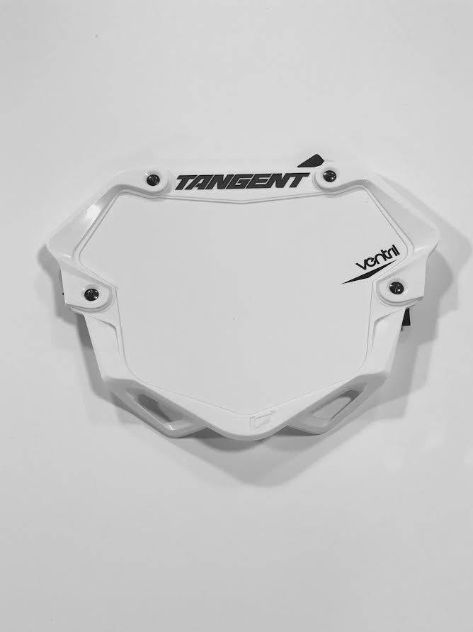 Tangent Products Tangent 3D Ventril Pro White Number Plate