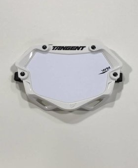 Tangent Products Tangent 3D Ventril Mini White Number Plate