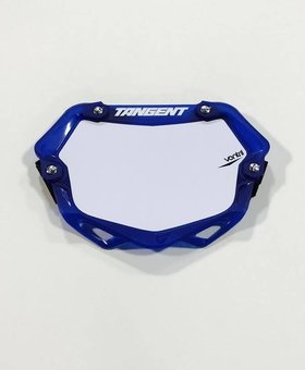 Tangent Products Tangent 3D Ventril Mini Trans Blue Number Plate