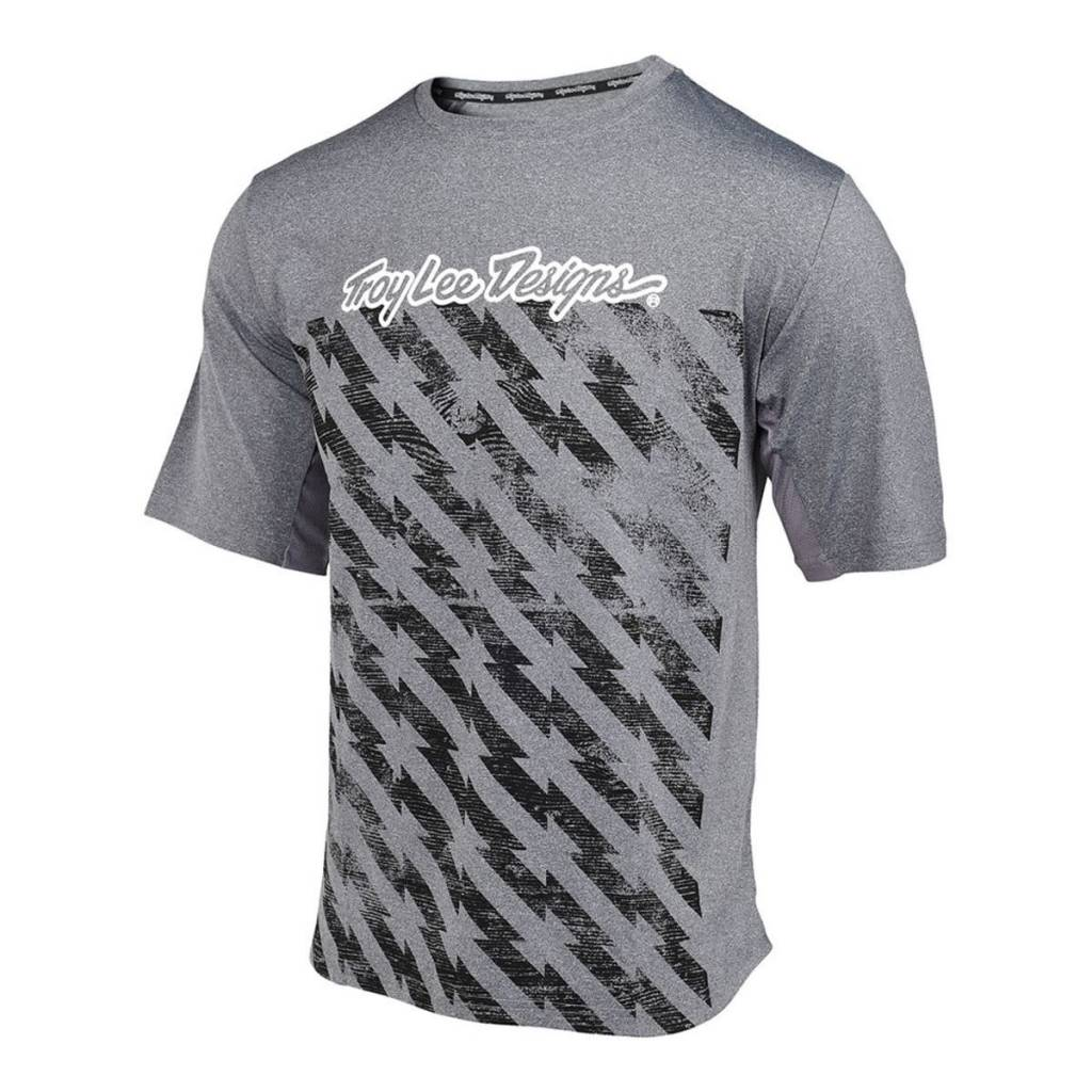 Troy Lee Designs Troy Lee Compound S/S Bolt Heather Gray XL Jersey