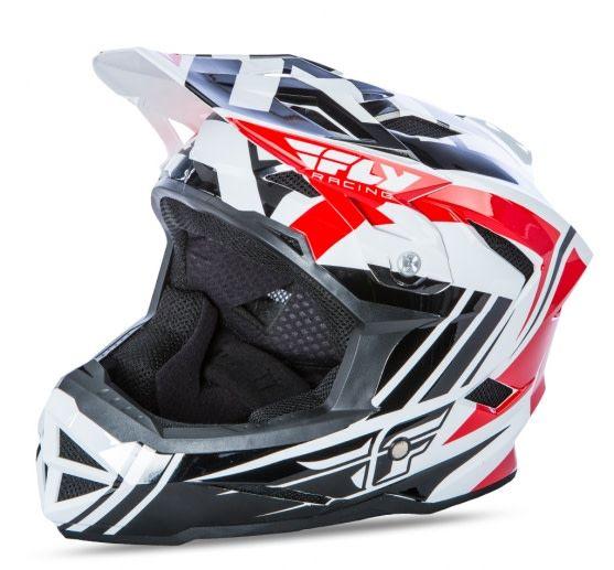 Fly Racing 2018 Fly Racing Default Red/Black/White Adult Helmet