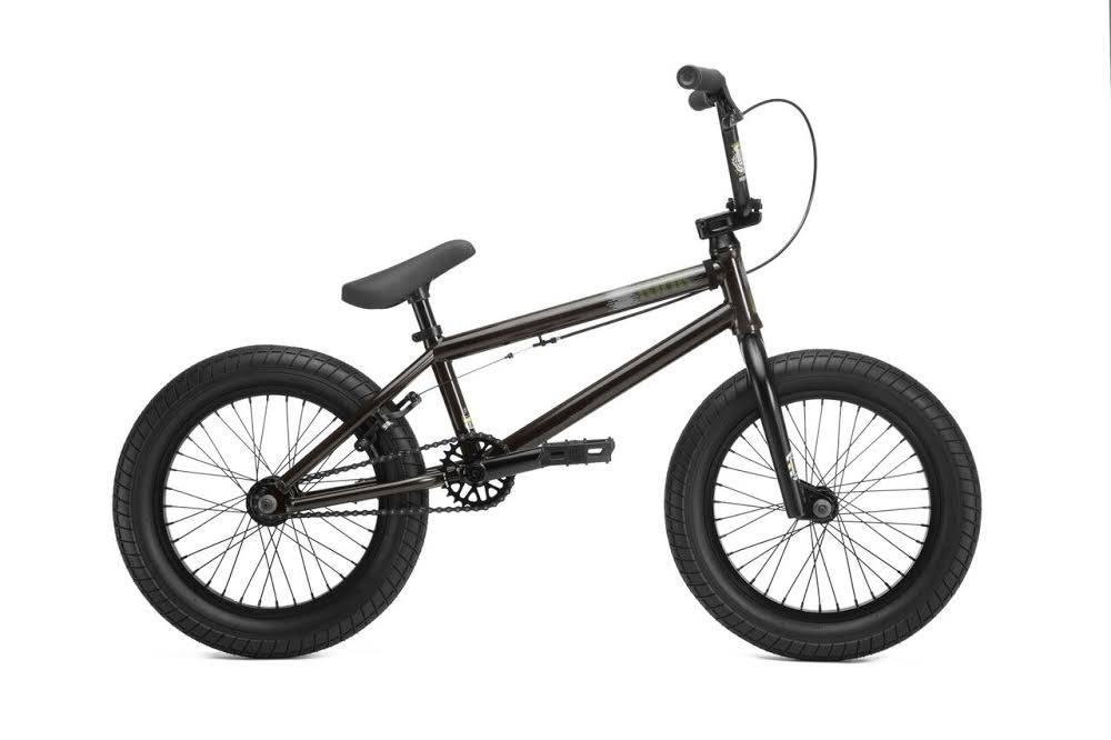 "Kink 2019 Kink Carve 16"" Gloss Trans Black Bike"
