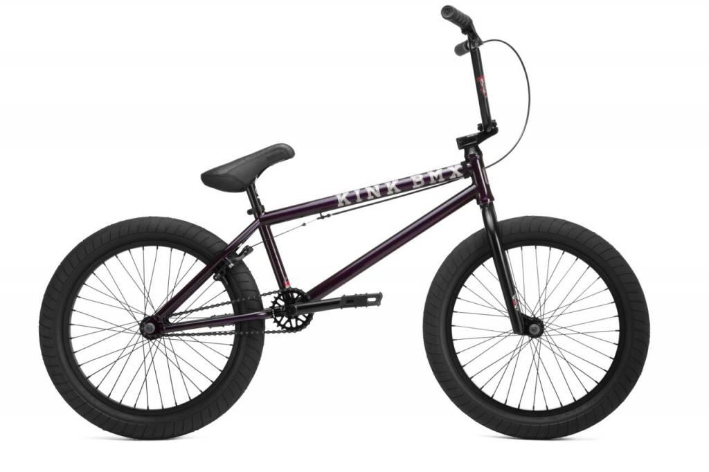 Kink 2019 Kink Gap XL Gloss Trans Deep Purple Edge Fade Bike
