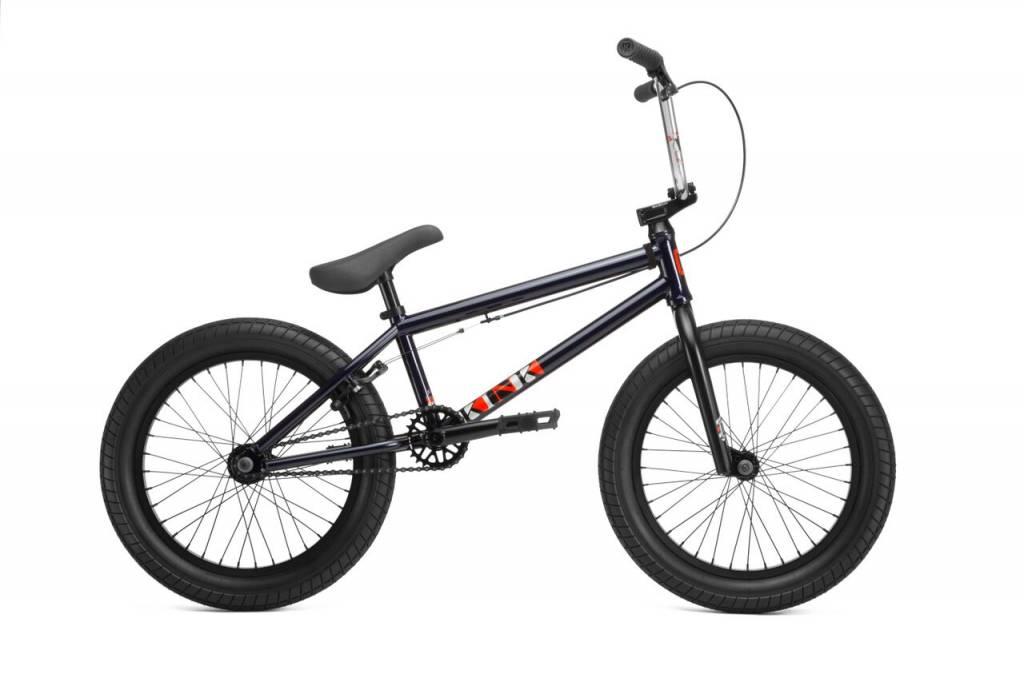 """Kink 2019 Kink Kicker 18"""" Gloss Midnight Blue Bike"""