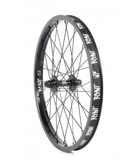 Rant Rant Party On Front Black Wheel