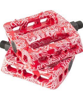 Odyssey Odyssey Twisted Pro Monogram All-Over Red Pedals