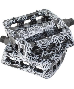 Odyssey Odyssey Twisted Pro Monogram All-Over Black Pedals