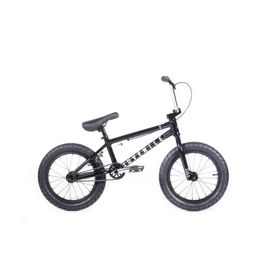 """Cult 2019 Cult Juvenile 16"""" A Black Bike"""