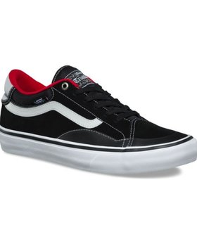 Vans Vans TNT Advanced Prototype Black/White/Red Shoes