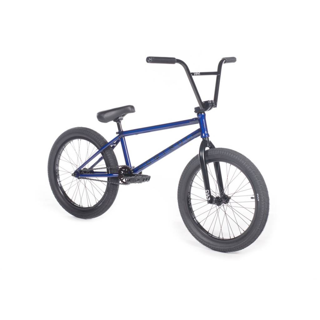 Cult 2019 Cult Control B Trans Blue Bike