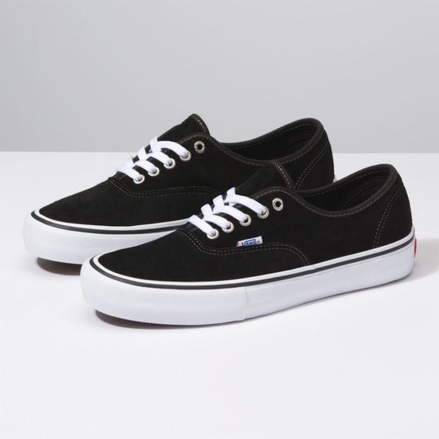 Vans Vans Authentic Pro Black Suede Shoes