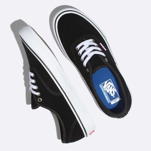 Vans Vans Authentic Pro Black Suede Shoes