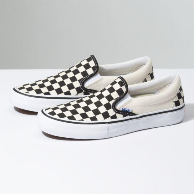 Vans Vans Slip-On Pro Black/White Checkerboard Shoes