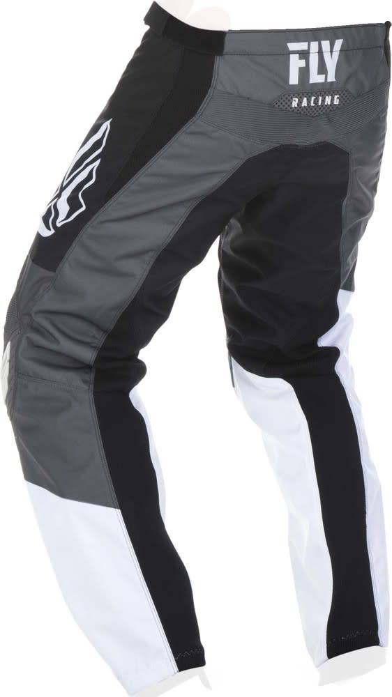 Fly Racing 2019 Fly Racing F-16 Adult Black/White/Grey Pants