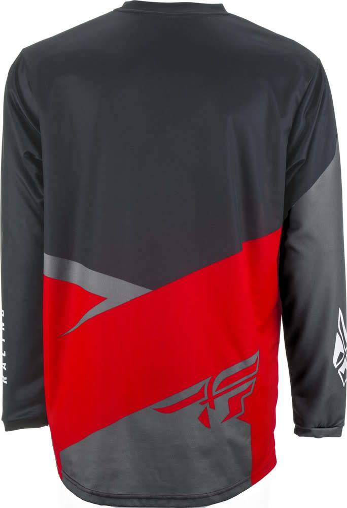 Fly Racing 2019 Fly Racing F-16 Adult Red/Black/Grey Jersey