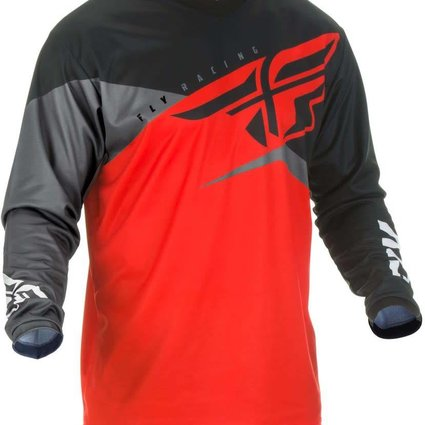 Fly Racing 2019 Fly Racing F-16 Youth Red/Black/Grey Jersey