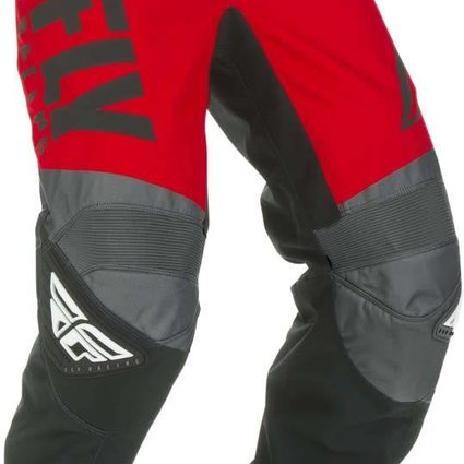 Fly Racing 2019 Fly Racing F-16 Youth Red/Black/Grey Pants