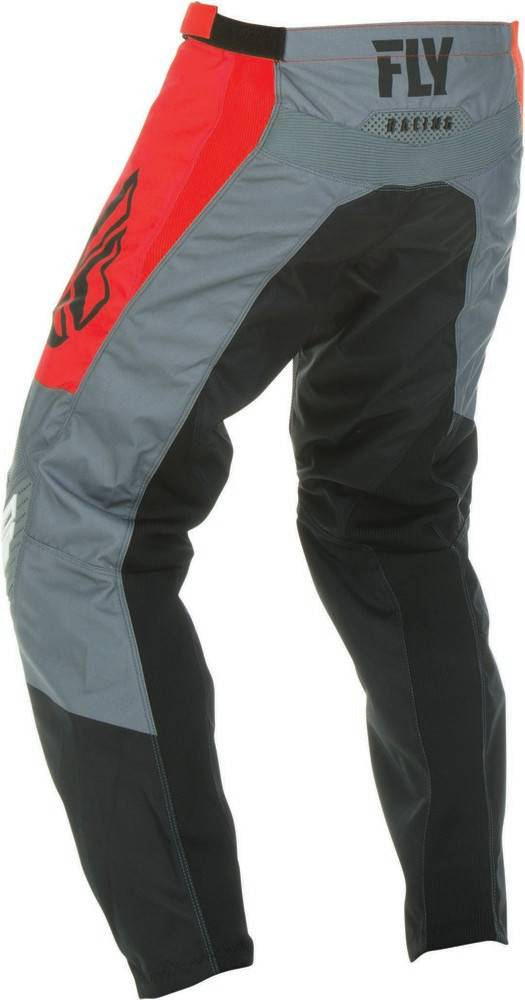 Fly Racing 2019 Fly Racing F-16 Adult Red/Black/Grey Pants