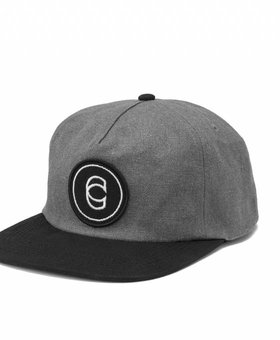 Cinema Cinema Classic Snapback Gray/Black Hat