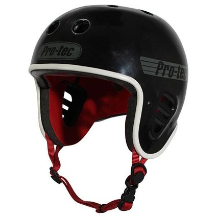 Pro-Tec Pro-tec Fullcut (Certified) Gloss Black Helmet