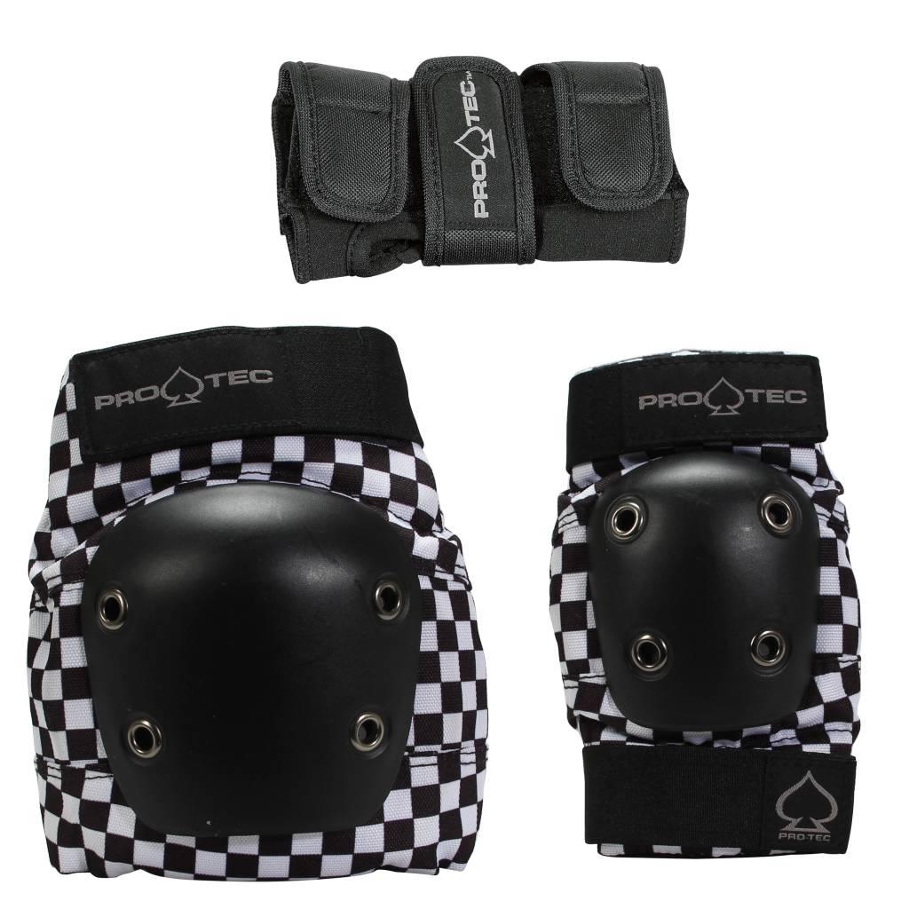Pro-Tec Pro-tec Youth Street Gear Checkered Pad Set