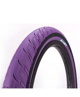 """Merritt 20X2.35"""" Merritt Option Purple Tire"""