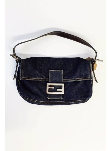 Fendi SAC BAGUETTE EN DENIM