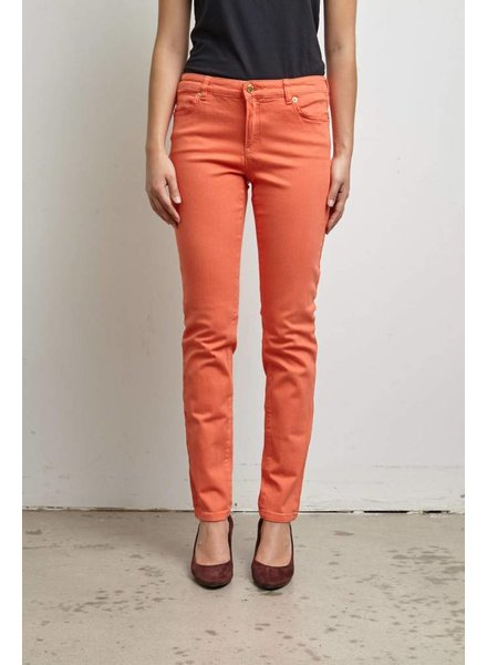 Michael Kors JEANS ORANGE CORAIL SKINNY