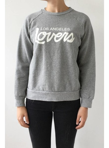 "Lovers + Friends PULL GRIS ""LOS ANGELES LOVERS"""