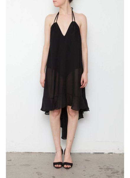 Dress The Population ROBE MAILLOT NOIRE
