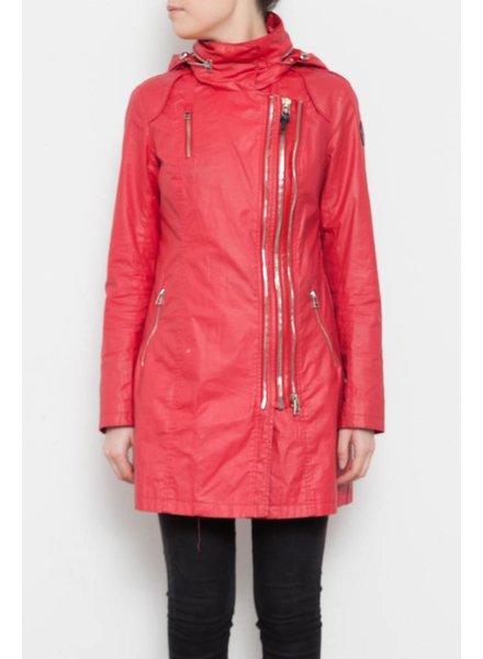 Rudsak Manteau rouge style imperméable