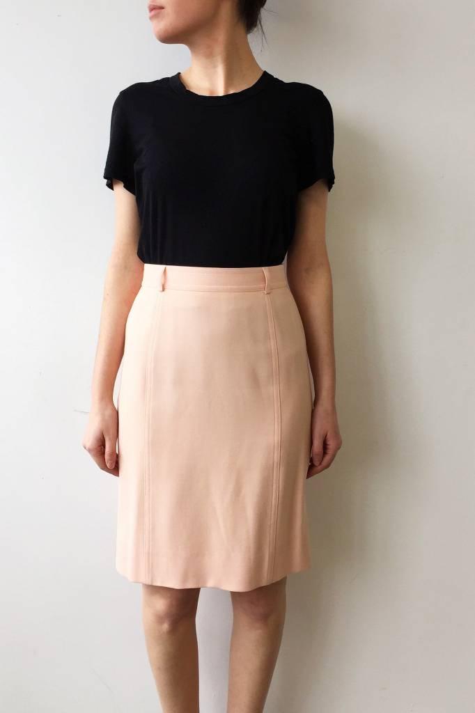 jupe taille haute rose p le escada deuxi me dition. Black Bedroom Furniture Sets. Home Design Ideas