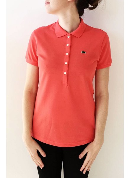Lacoste POLO CORAIL FLUO À MANCHES COURTES - NEUF