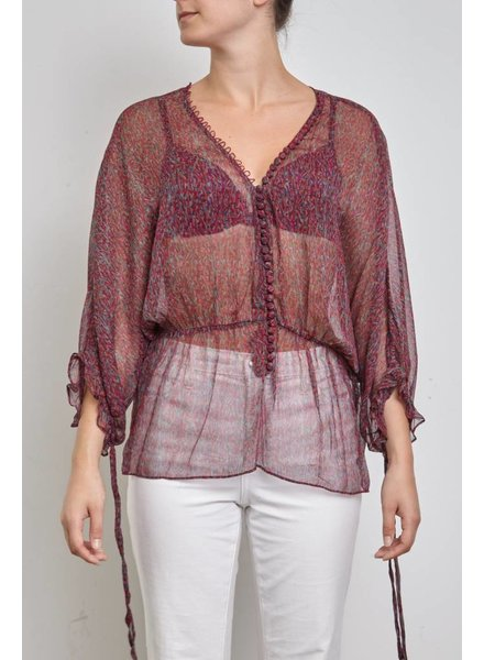 Elizabeth & James BLOUSE EN SOIE AMPLE