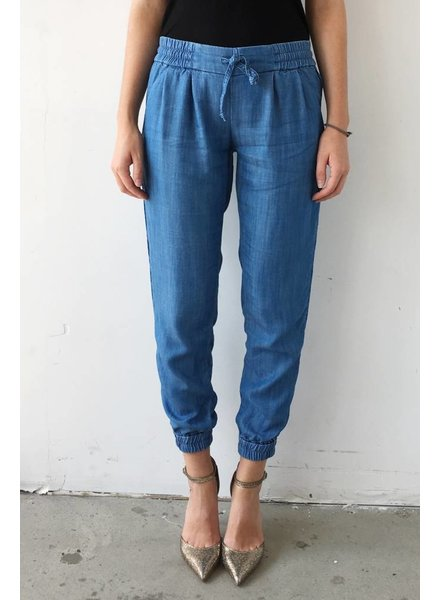 Talula PANTALON AMPLE EN CHAMBRAY