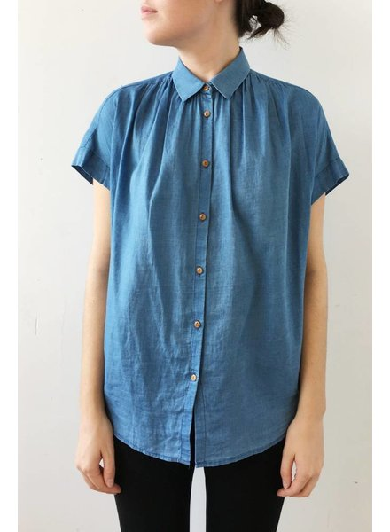 Madewell CHEMISE AMPLE EN CHAMBRAY