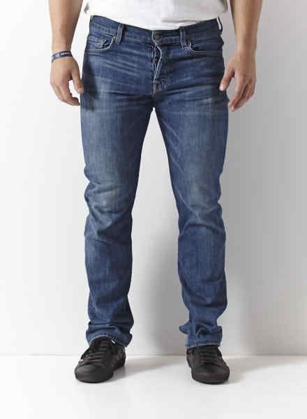 7 for all mankind JEANS BLEU