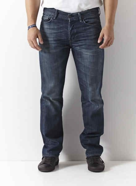 7 for all mankind JEANS BLEU DÉLAVÉ