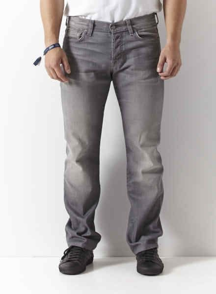 7 for all mankind JEANS GRIS PÂLE