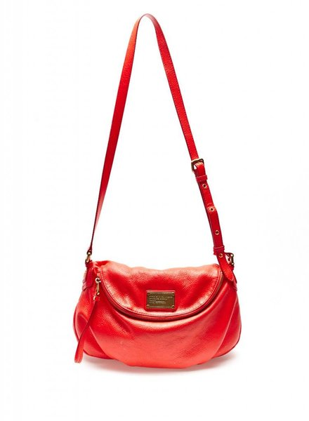 Marc by Marc Jacobs SAC À MAIN EN CUIR ROUGE-ORANGE FLUO