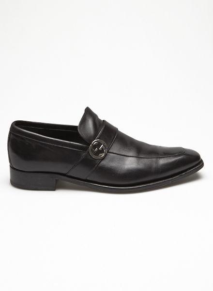 As Chaussures En Cuir Gucci scxqyK