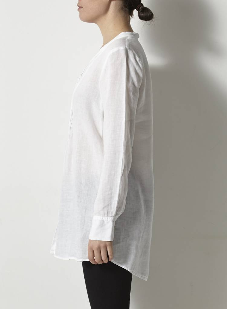 Eileen Fisher Chemisier blanc en lin