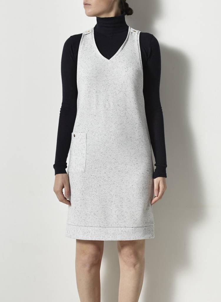 Noemiah Robe gris pâle sans manches - Neuve - P